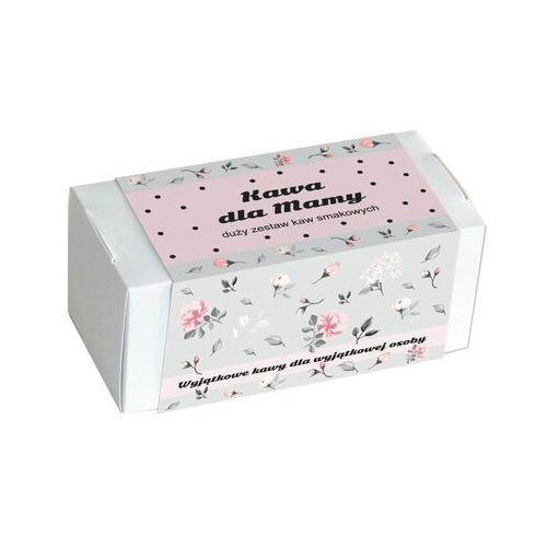 Kawa dla mamy w kwiecistym pudełku - prezent upominek z kawą aromatyzowaną dla mamy z okazji dnia matki - 20 smaków x 10g marki Cup&you cup and you