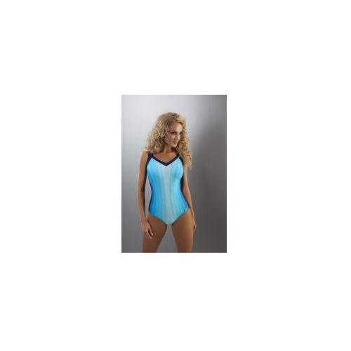 Kostium kąpielowy jednoczęściowy Aquarilla Imola 168 niebieski, jednoczęściowy