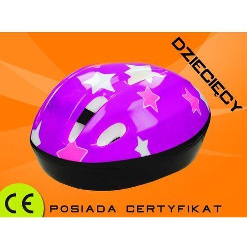 Kask dla dzieci 4s Stars Violet S - produkt z kategorii- Akcesoria sportowe dla dzieci