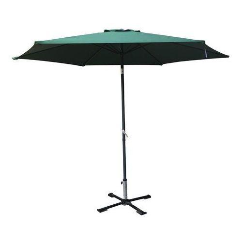 parasol przeciwsłoneczny 300 cm odchylany ciemnozielony marki Rojaplast
