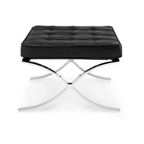 D2.design Podnóżek ba1 inspirowany barcelona - czarny