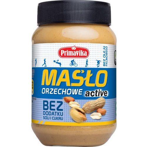 Primavika - Masło Orzechowe ACTIVE Bez Soli i Cukru 470g (5900672302066)