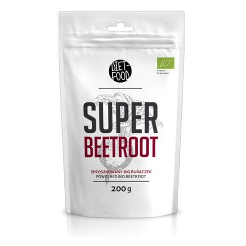 Diet-food Super beetroot sproszkowany bio burak 200g eko (5906395147182)