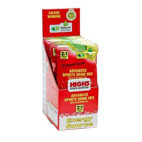 High5 EnergySource Żywność dla sportowców Lemon 12 x 47g żółty/czerwony 2018 Zestawy i multipaki