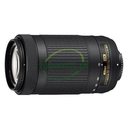 nikkor af-p dx 70-300mm f/4.5-6.3g ed cashback zwrot od nikon 215 zł marki Nikon