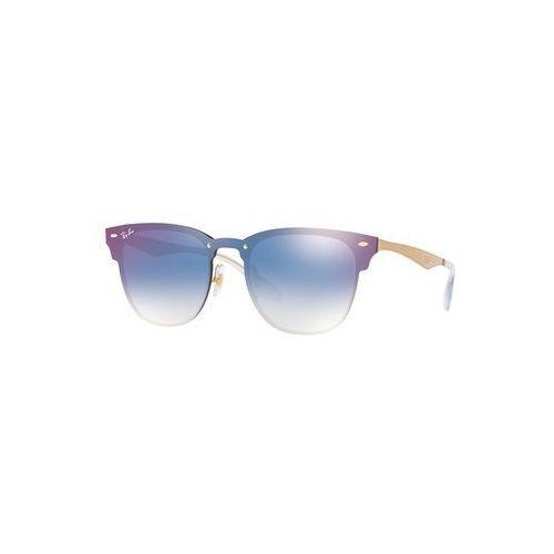 - okulary blaze clubmaster marki Ray-ban