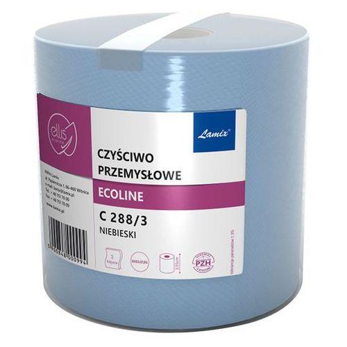 Lamix Czyściwo przemysłowe w roli ellis ecoline 3 warstwy 288 m niebieskie makulatura (5900848000994)
