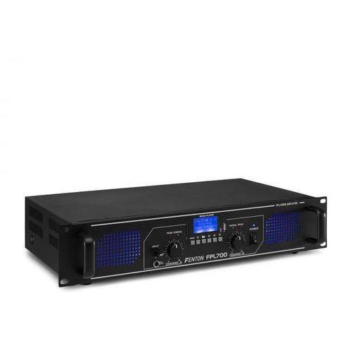 Fenton fpl700 wzmacniacz cyfrowy 2 x 350 w bluetooth odtwarzacz multimedialny port usb slot sd