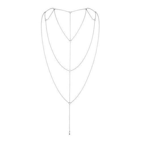 Bijoux Indiscrets - Magnifique Back & Cleavage Chain (srebrny)