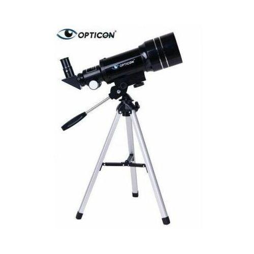 Opticon Profesjonalny teleskop astronomiczny apollo + statyw + płyta dvd + mapy/plakaty + akcesoria.