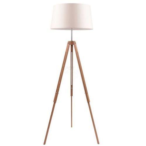 Spot light Lampa stojąca tripod dąb na trójnogu