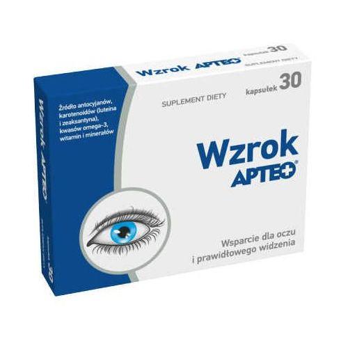 Synoptis pharma Apteo wzrok x 30 kapsułek