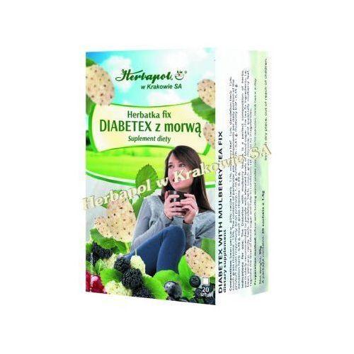 Herbatka fix diabetex z morwą marki Herbapol