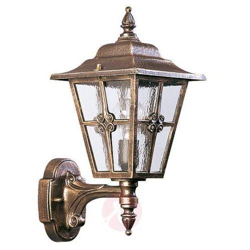 Interesująca zewnętrzna lampa ścienna 763 B