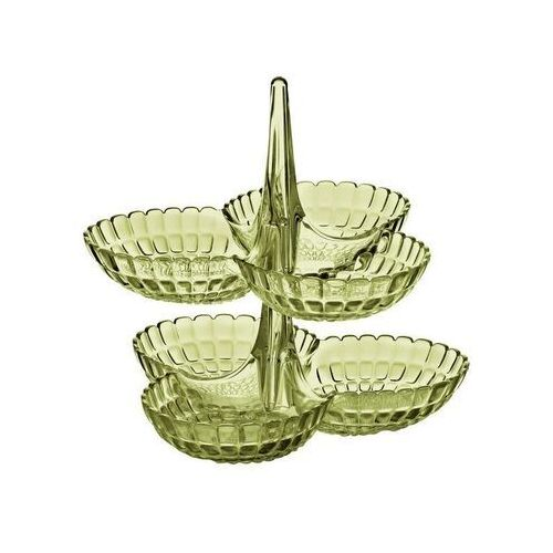 - tiffany - kpl 2 potrójnych miseczek na przystawki, piaskowy marki Guzzini