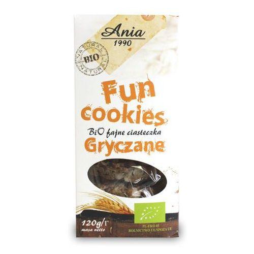 Bio ania Ciasteczka gryczane fun cookies bio 120g (5903453004838)
