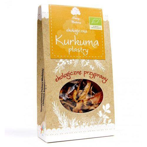 Dary natury Kurkuma plastry eko 30g - (5902741000101)