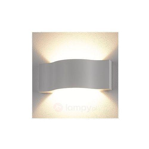 Lampenwelt Efektowna zewnętrzna lampa ścienna led jace (6291105704021)