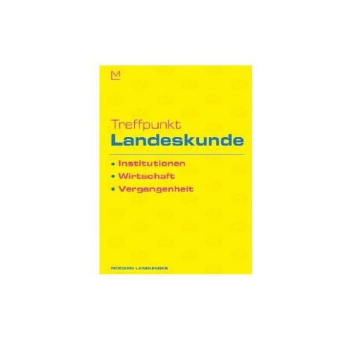 Treffpunkt Landeskunde Institutionen, Wirtschaft, Vergangenheit + CD, oprawa miękka