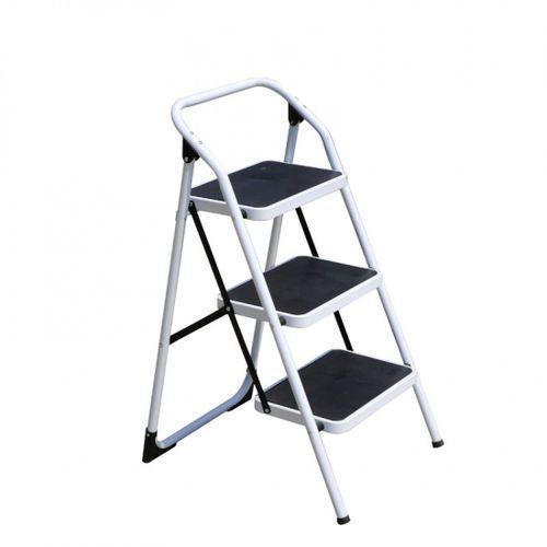 Stalowe składane schodki, 3 stopnie