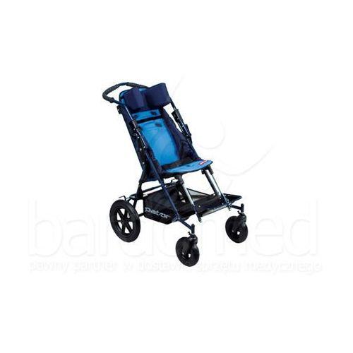 Wózek inwalidzki dziecięcy spacerowy patron ben 4 basic maxi szer. 38 (skrętne koła) od producenta Mobilex
