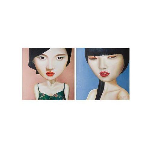 Kare Design Pop Art & Fun Mei Ling 100x100cm Obraz (32484) (obraz)