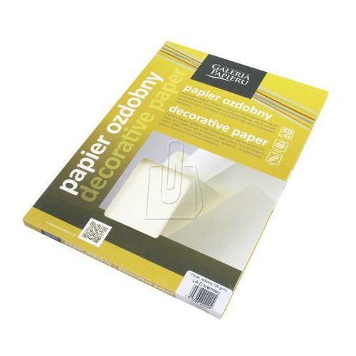 Argo Papier papier ozdobny laid kremowy (5903069002204)