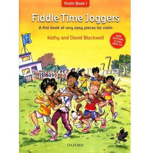 Pwm blackwell kathy, david - fiddle time joggers. violin book 1 (utwory na skrzypce + cd)- nowe wydanie
