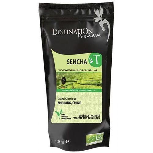 Herbata zielona sencha chiny 80g bio - marki Destination