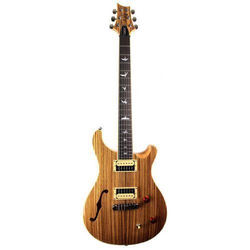 2017 se custom 22 semi hollow zebrawood - gitara elektryczna, edycja limitowana marki Prs