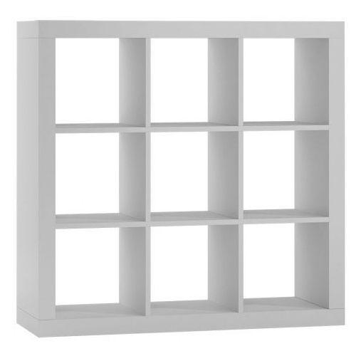 Regał kwadrat Idris 4X - biały, TopEshop kalax 3x3