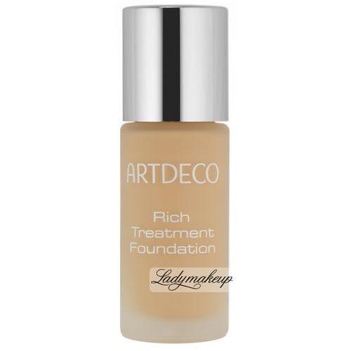 Artdeco rich treatment podkład 20 ml dla kobiet 10 sunny shell (4019674485101)
