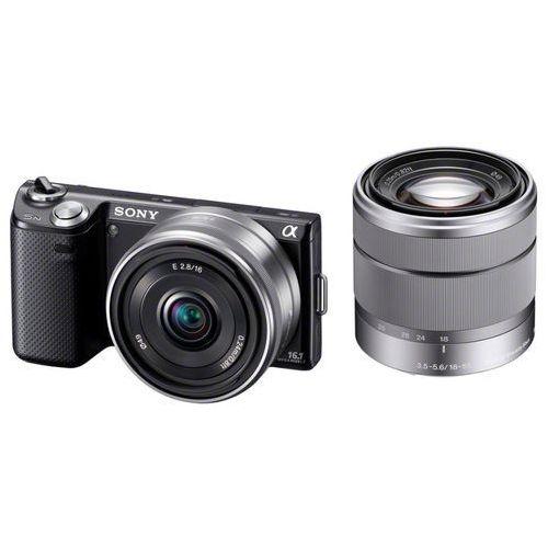 Aparat Sony NEX-5 z zoomem optycznym [26x]