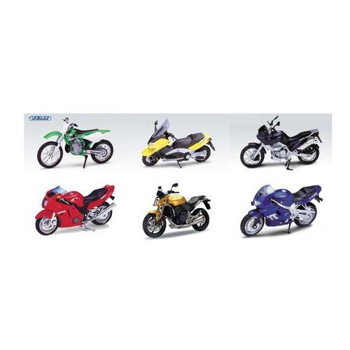 Model SWEDE Welly Motocykl 1:18 K531