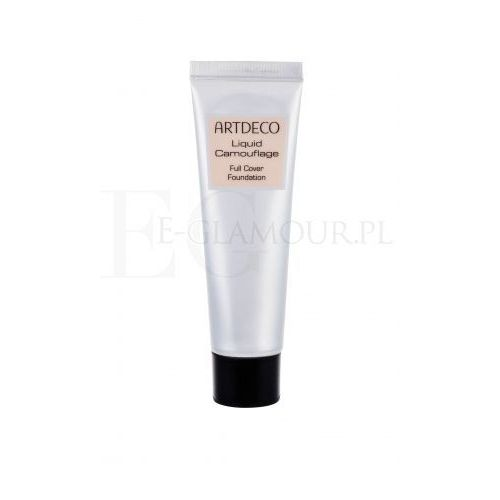cover & correct cover & correct make-up ekstremalnie kryjący odcień 4910.32 sunny tan (liquid camouflage) 25 ml marki Artdeco