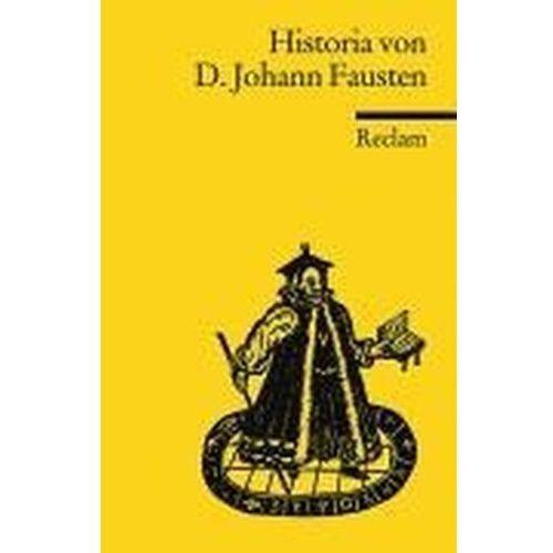 Historia von D. Johann Fausten Benz, Richard (9783150015155)