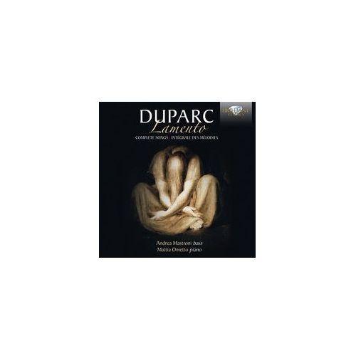 Duparc: Lamento, Complete Songs - Dostawa 0 zł (5028421952994)