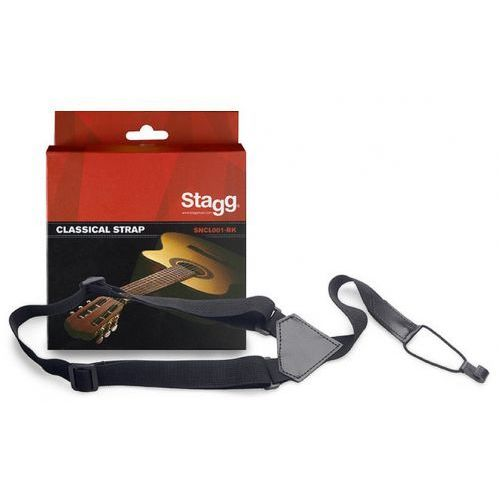 sncl001-bk - regulowany pasek do gitary/uke marki Stagg