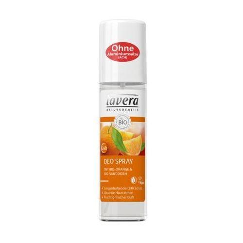 Dezodorant w sprayu bio-pomarańcza rokitnik 75ml lavera marki 260lavera