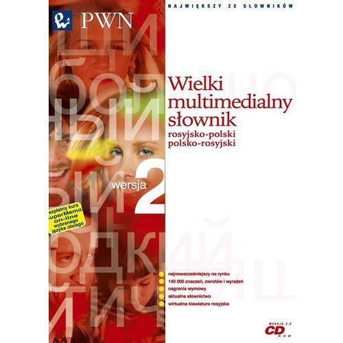 Wielki multimedialny słownik rosyjsko-polski polsko-rosyjski PWN. Wersja 2.0 ( CD_ROM)