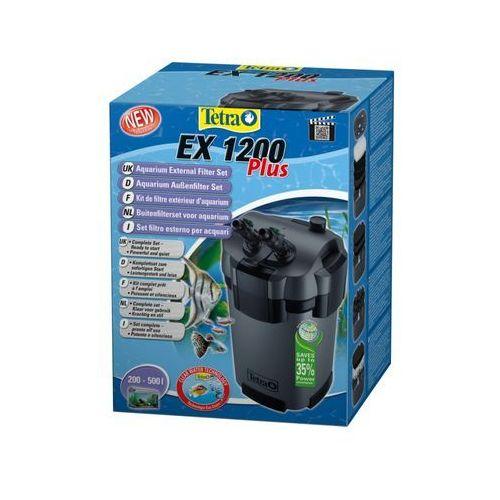 TETRA Filtr zewnętrzny EX 1200 PLUS z pokarmem Tetra GRATIS!