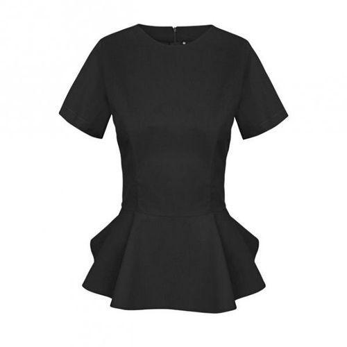 Fartuszek kosmetyczny z baskinką czarny - sprawdź w wybranym sklepie