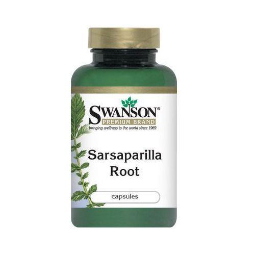 Swanson Sarsaparilla 450mg 60 kaps.