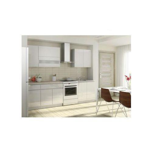 Zestaw mebli kuchennych campari kolor biały marki Layman