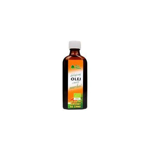Olej z nasion marchwi bio 100 ml - dary natury marki Dary natury - inne bio