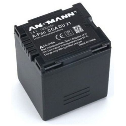 Akumulator ANSMANN do Panasonic A-Pan CGA DU 21 (1900 mAh) + DARMOWY TRANSPORT!