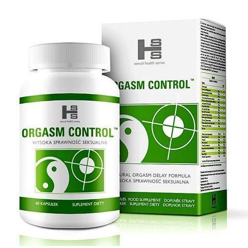 Orgasm control - opóźnia wytrysk, wydłuża stosunek - tabletki 60tab marki Sexual health series
