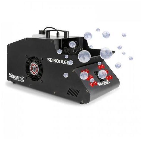 SB1500LED Wytwornica mgły/baniek mydlanych 1500 W zbiornik 1,35 l diody LED RGB DMX