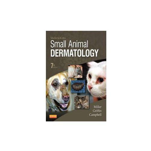 Muller and Kirk's Small Animal Dermatology (948 str.)