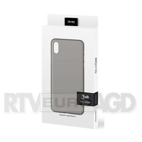 3mk natural case iphone x (czarny)
